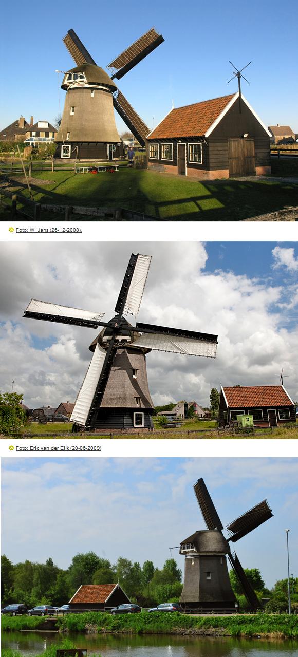 De Sluismolen, Alkmaar-Koedijk, Foto: Martijn Scholtens (2-5-2009).