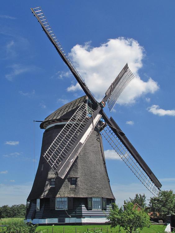 Nekkermolen, Neck, Foto: Piet Glasbergen (11-6-2014).