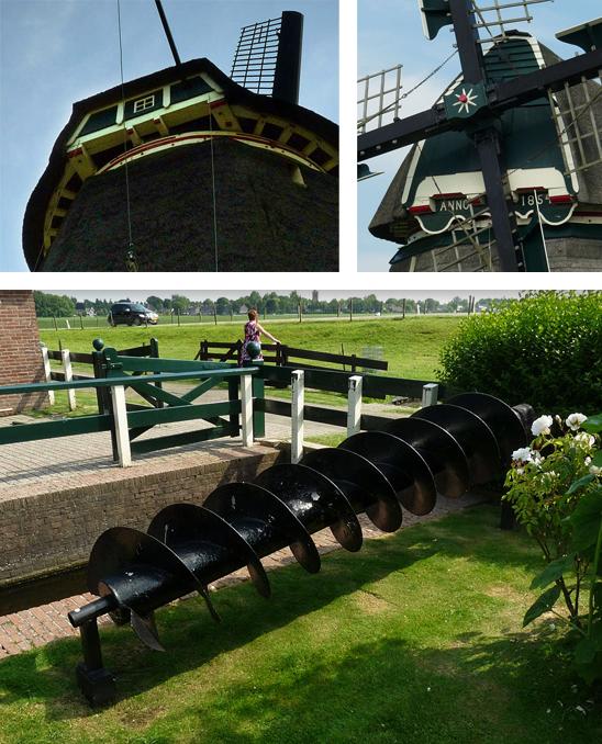 De Westermolen, Nieuwe Niedorp, Foto's: Gerard Roomer (21-6-2009).