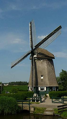 De Westermolen, Nieuwe Niedorp, Foto: Gerard Roomer (21-06-2009)