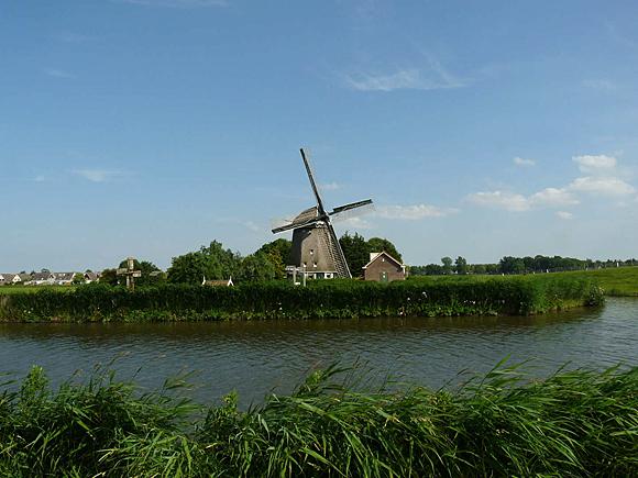 De Westermolen, Nieuwe Niedorp, Foto: Gerard Roomer (21-6-2009).
