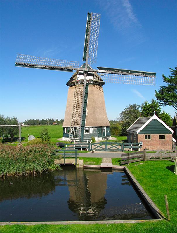 De Westermolen, Nieuwe Niedorp, Foto: Piet Glasbergen (30-9-15)
