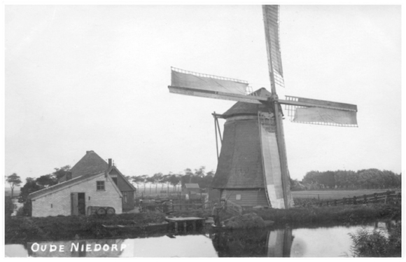De Hoop, Oude Niedorp, Mooie oude opname uit de collectie van Ton Meesters. Datum foto: ?