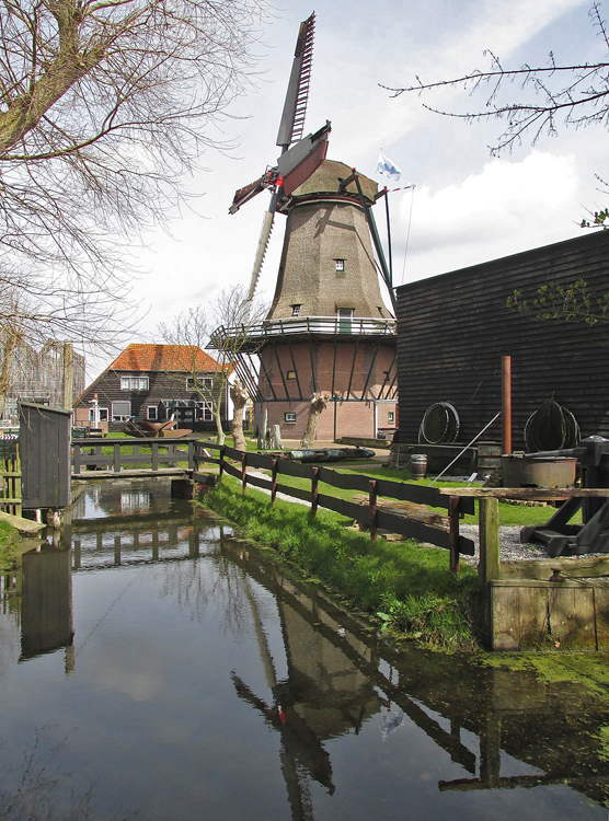 De Traanroeier, Oudeschild, Foto: Piet Glasbergen (13-4-2015).