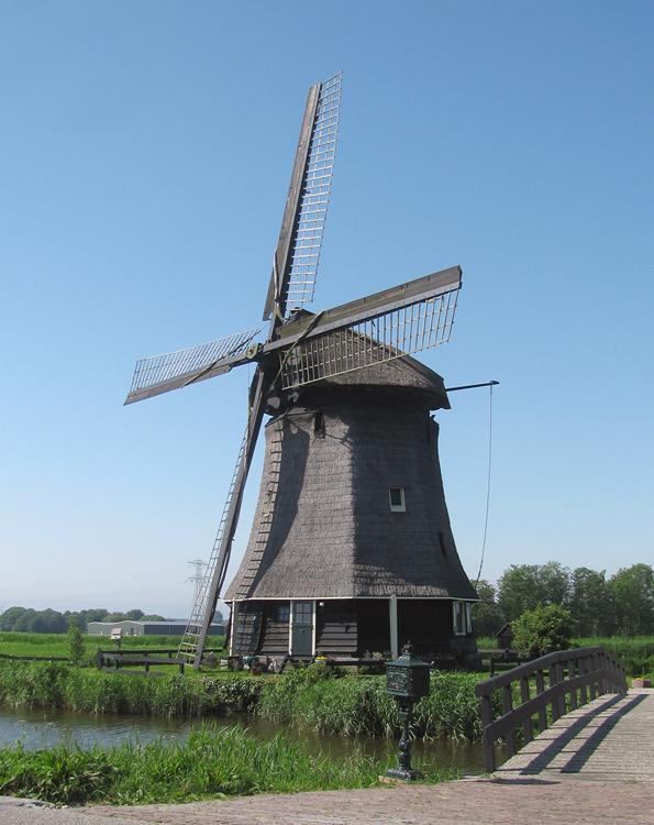 Strijkmolen I, Rustenburg, Foto: Piet Glasbergen (28-5-2012).