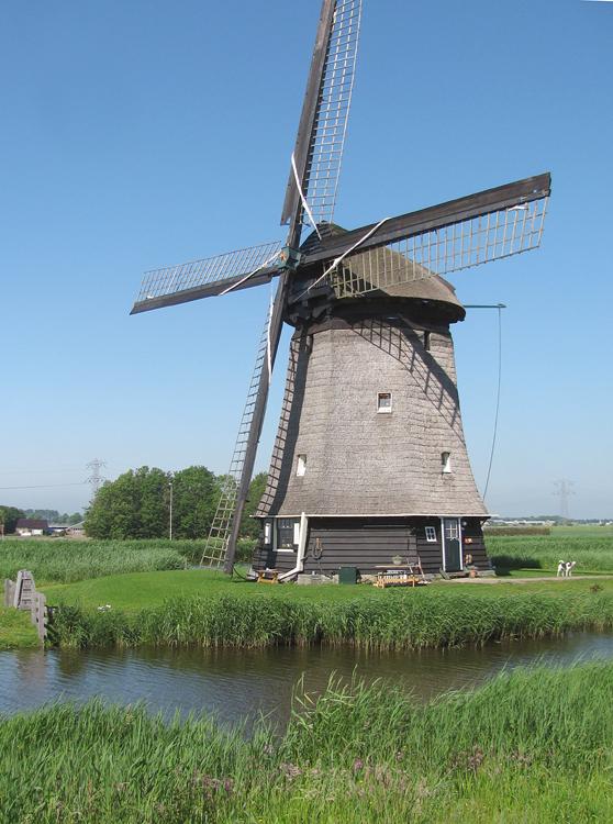 Strijkmolen K, Rustenburg, Foto: Piet Glasbergen (28-5-2012).