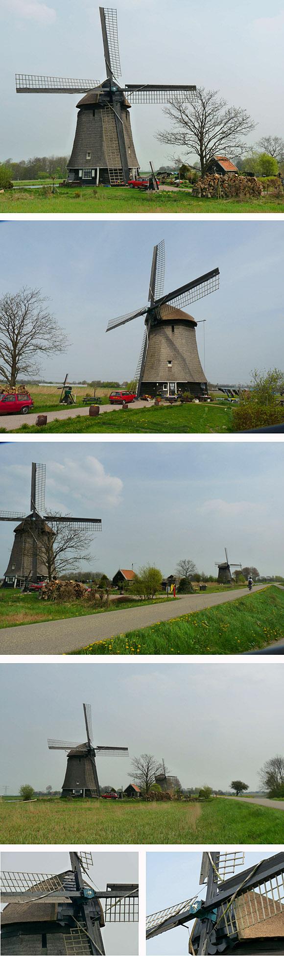 Strijkmolen L, Rustenburg, Foto's: Gerard Roomer (28-4-2010).