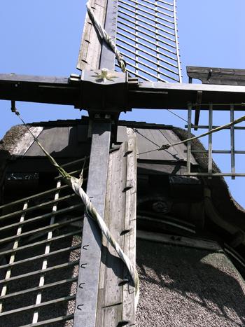 Poldermolen O, Schermerhorn, Foto: mevr. N. van Oort (16-7-2009).