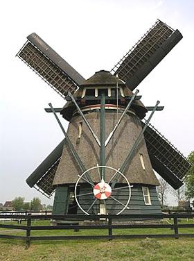De Grebmolen, Schoorldam, Foto: Willem Jans (13-5-2006).