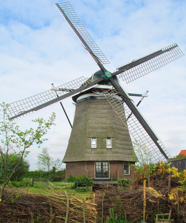 De Slokop, Spaarndam-Oost, Foto: Piet Glasbergen (12-5-2013).