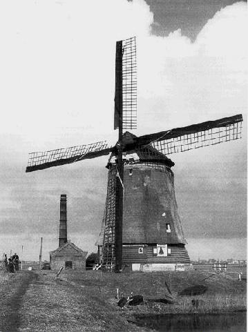 De Kaagmolen, Spanbroek, Verzameling van H.J.van der Kaay.