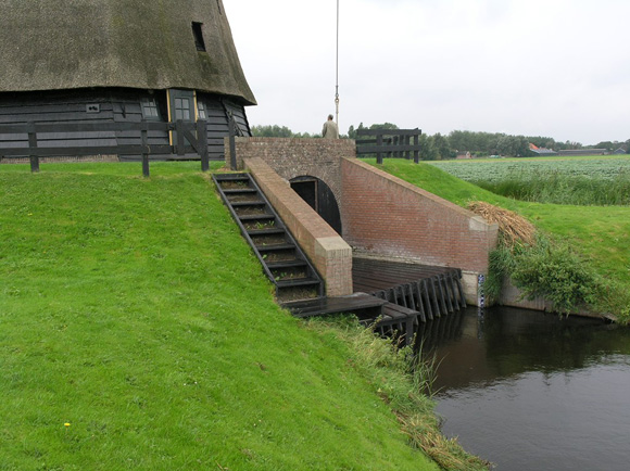 Poldermolen E, Stompetoren, Foto: Willem Jans (7-9-2008).