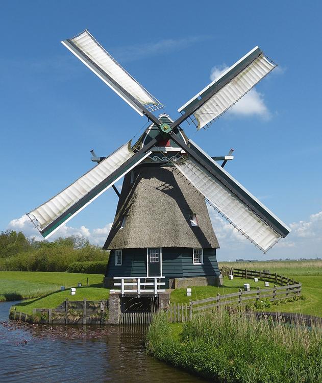 Dorregeester molen, Uitgeest, Foto: Willem Jans (13-5-2012).