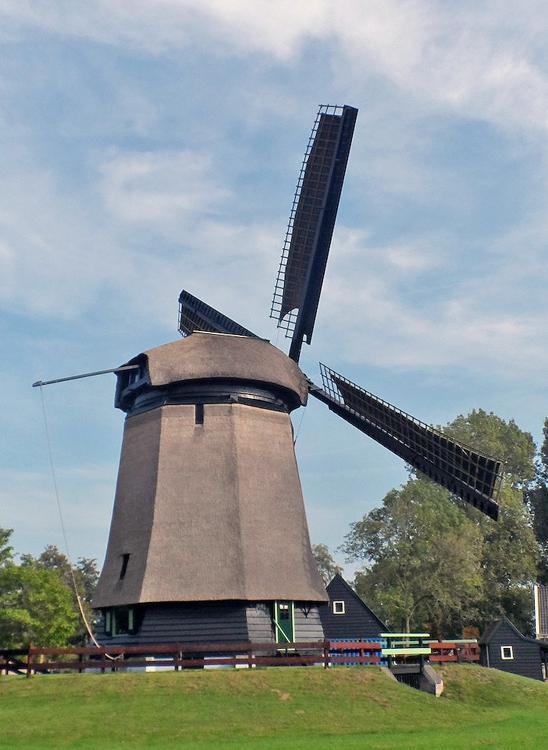 Poldermolen Waarland, Waarland, Foto: Julius Meijer (4-10-2014).