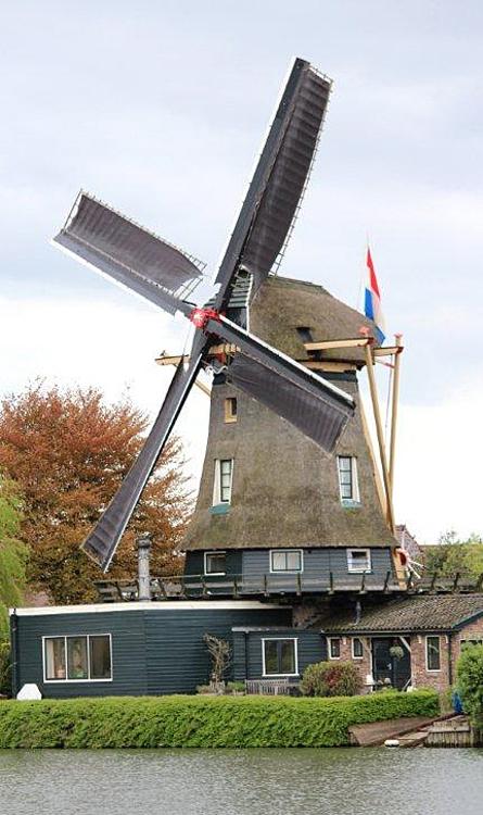 De Eendragt, Weesp, Foto: Frits Kruishaar (5-5-2012).