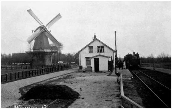 De Stofmolen, Wijdenes, Foto: ? (verzameling Rob Pols).