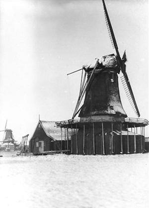 De Ooievaar, Zaandam, Foto: n.b. (verzameling Rob Pols).