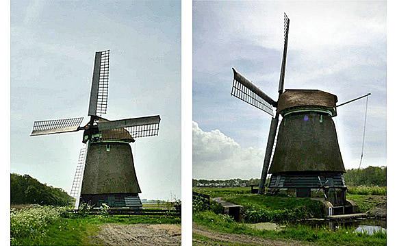 Molen P-V, 't Zand, Foto's: Gerard Roomer (09-05-2009)