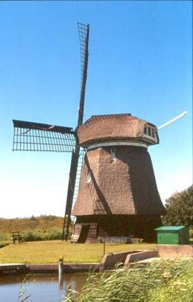 Molen O-N of Ooster-N, Schagerbrug, Foto: W. Jans (15-07-2001)
