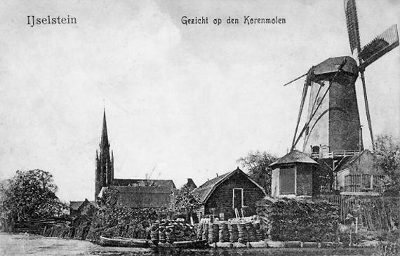 De Windotter, IJsselstein, De Windotter vóór de onttakeling.  Foto: n.b. (verzameling Rob Pols).