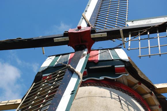 Binnenmolen, Rhenen, Foto: Rob Pols (11-8-2007).