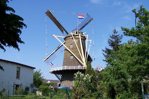 De Nieuwe Molen, Veenendaal, Foto: Willem van Breenen (5-5-2007).