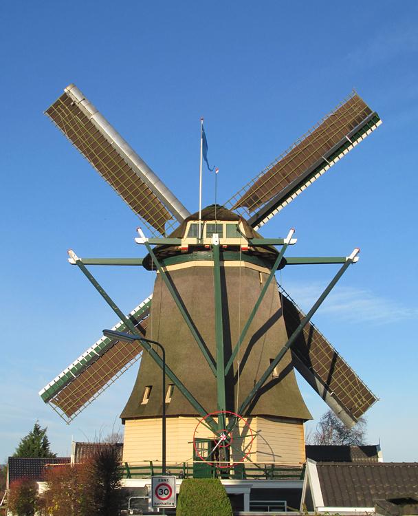 De Ruiter, Vreeland, Foto: Piet Glasbergen (23-11-2013).