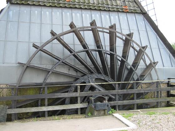 De Blokker / Blokweerse wip, Alblasserdam (Kinderdijk), Foto: Rob Pols (19-7-2004).