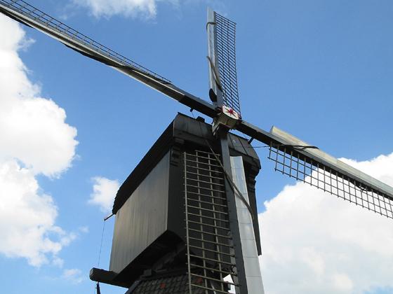 De Blokker / Blokweerse wip, Alblasserdam (Kinderdijk), Foto: Rob Pols (31-7-2006).