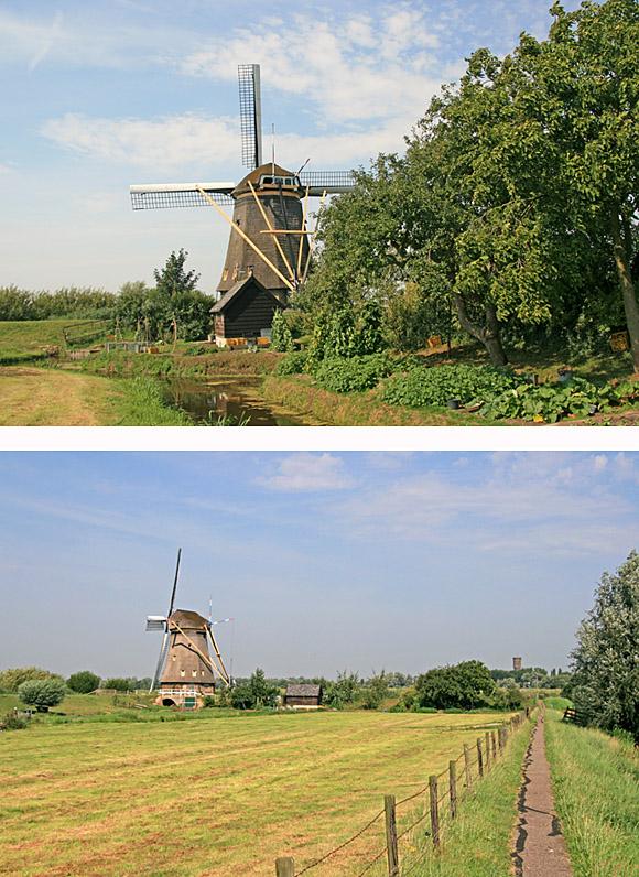 De Hoge Molen, Nieuw-Lekkerland, Foto's: Ton Koorevaar (20-8-2009)