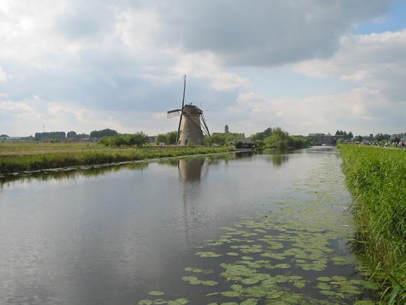 Nederwaard Molen No.1, Kinderdijk, Foto: Rob Pols (17-5-2007).