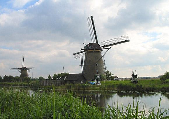 Nederwaard Molen No.3, Kinderdijk, Foto: Rob Pols (17-5-2007).
