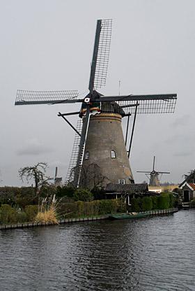 Nederwaard Molen No.6, Kinderdijk, Foto: Mark Remmerts (5-4-2010).