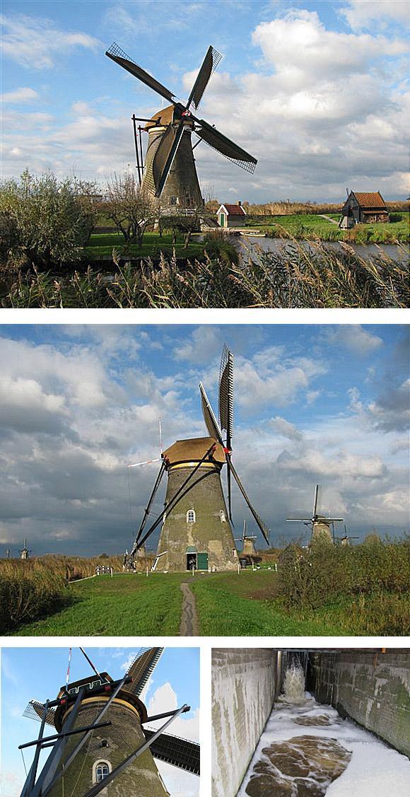 Nederwaard Molen No.7, Kinderdijk, Foto's: Gert-Jan Rozendaal (8-11-2010).