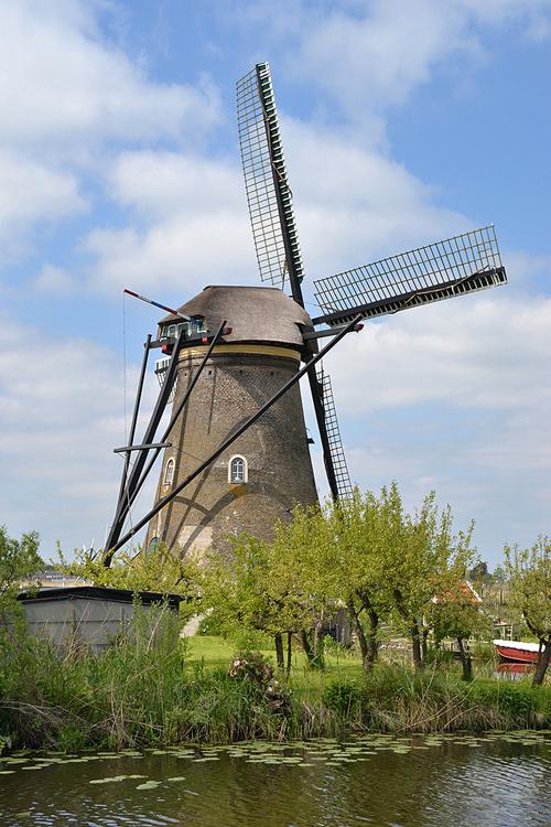Nederwaard Molen No.7, Kinderdijk, Foto: Rob Pols (15-5-2015).