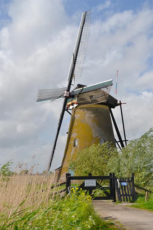 Nederwaard Molen No.8, Kinderdijk, Foto: Rob Pols (9-5-2014)