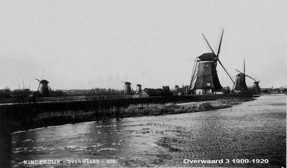 Overwaard Molen No.3, Kinderdijk, Foto: Verzameling J. Hoek