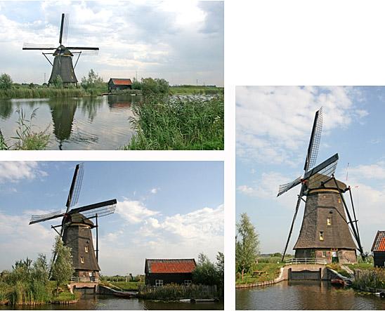 Overwaard Molen No.6, Kinderdijk, Foto's: Ton Koorevaar (20-08-2009)