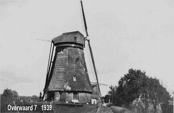 Overwaard Molen No.7, Kinderdijk, Foto: Verzameling J.Hoek