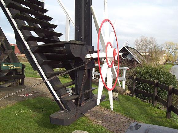 Ter Leede, Leerdam, Foto: Justin van den Heuvel (12-4-2008).