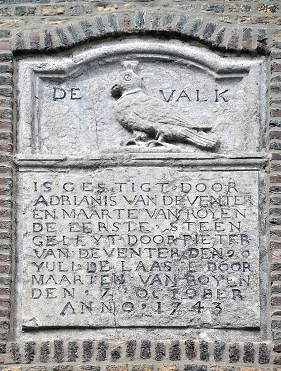 De Valk, Leiden, Foto: Rob Pols (31-7-2012).