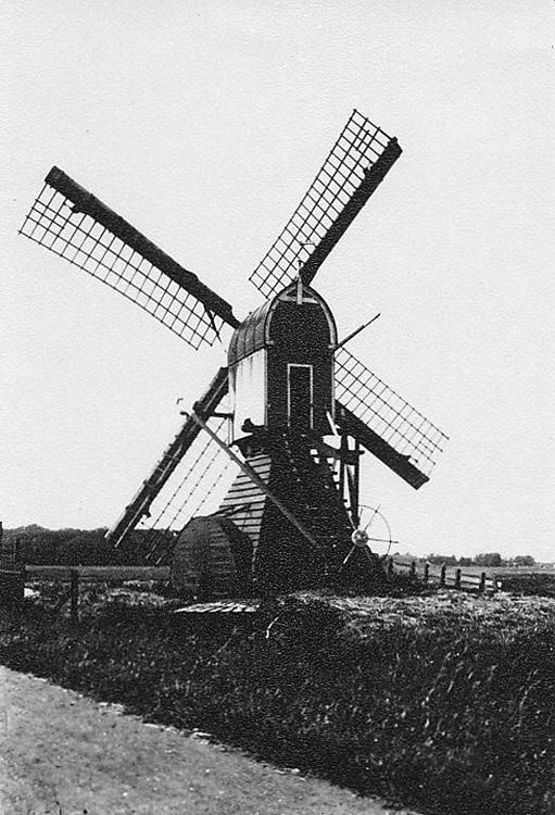 Maredijkmolen, Leiden, Van zo