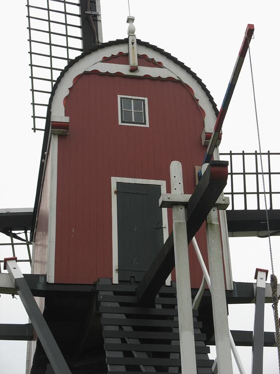 Lagenwaardse molen, Koudekerk aan den Rijn, Foto's: Piet Glasbergen (11-3-2014).