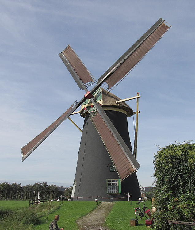Poldersche Molen, Maasdam, Foto: Abel van Loenen (18-10-20014).