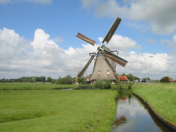 Dijkmolen, Maasland, Foto: Rob Pols (14-5-2007).