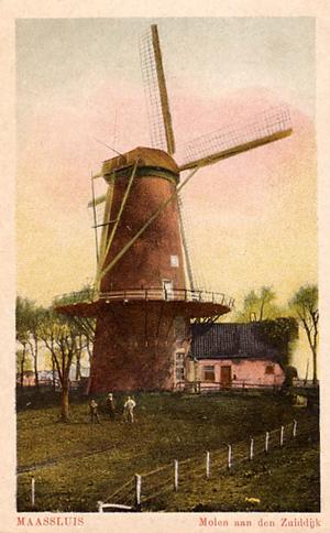De Hoop, Maassluis, De Hoop tussen ± 1900 en 1920.  Foto: ? (verzameling Tim Dreessen).