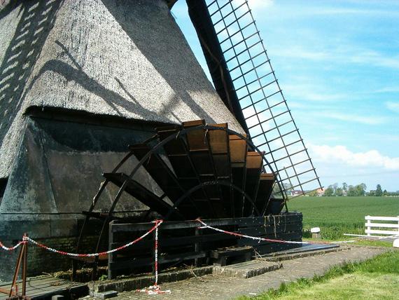 Oostmolen, Mijnsheerenland, Foto: Tom Blaak (mei 2005).