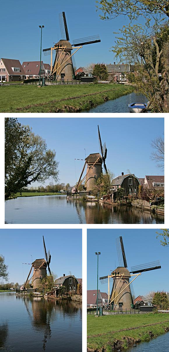 De Kerkmolen, Molenaarsgraaf, Foto: Ton Koorevaar (22-4-2010).