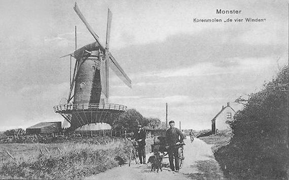 De Vier Winden, Monster, De Vier Winden omstreeks 1900.  Foto: n.b. (verzameling Toby de Kok).