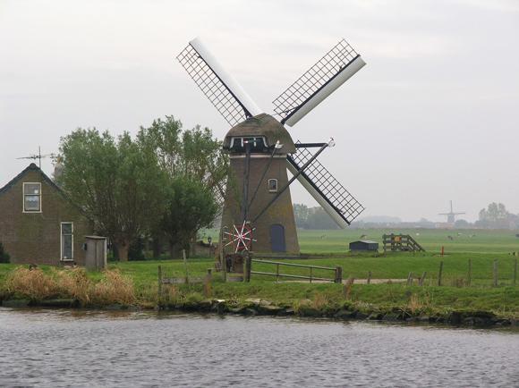Adermolen, Rijpwetering, Foto: Willem Jans (28-10-2007).